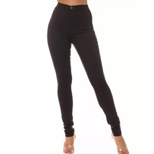 Aphrodite Black High Waisted Jeans